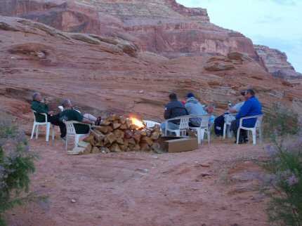 Fred's Guide to Lake Powell - Camping