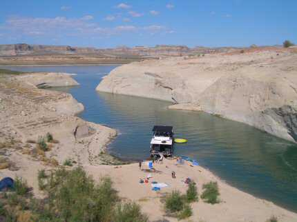 Fred S Guide To Lake Powell Camping